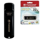 Флэш-диск 32 GB, TRANSCEND Jetflash 700, USB 3.0, черный, TS32GJF700
