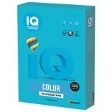 Бумага IQ color, А4, 80 г/м2, 100 л., интенсив светло-синяя
